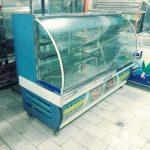 یخچال شیشه خم مدل قدیمی